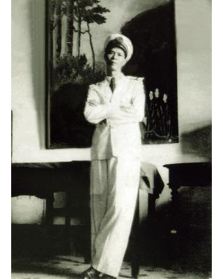 Ảnh Ông Ngô Thế Dưỡng - người tham gia xây dựng đài vô tuyến điện trên quần đảo Hoàng Sa năm 1938.