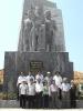 UBND huyện Hoàng Sa thăm và làm việc tại huyện đảo Lý Sơn (Tháng 4 năm 2010)